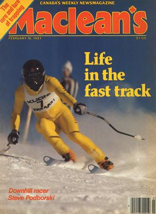Cover for the February 16 1981 issue