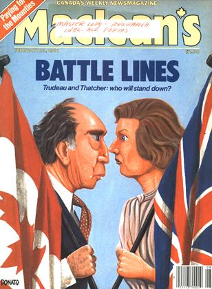 Cover for the February 23 1981 issue