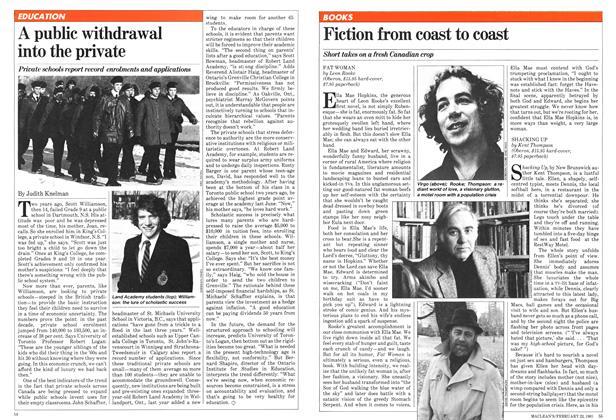 Fiction from coast to coast