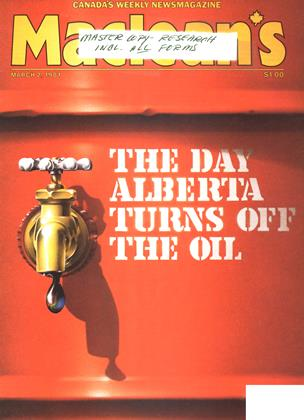Cover for the March 2 1981 issue