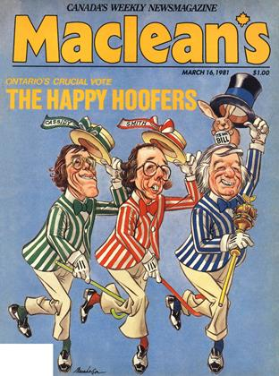 Cover for the March 16 1981 issue