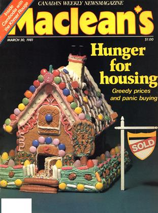 MARCH 30, 1981 | Maclean's