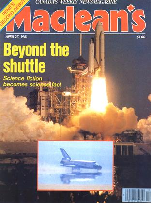 Cover for the April 27 1981 issue