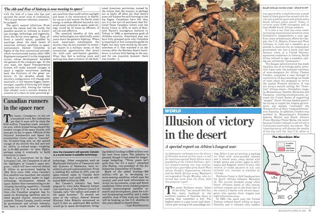 Illusion of victory in the desert
