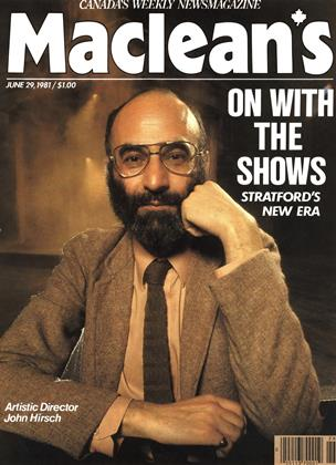 Cover for the June 29 1981 issue