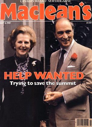 Cover for the July 6 1981 issue