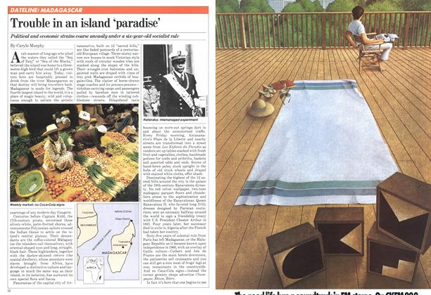 Trouble in an island 'paradise'