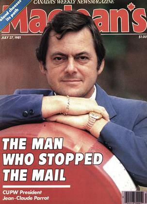 Cover for the July 27 1981 issue