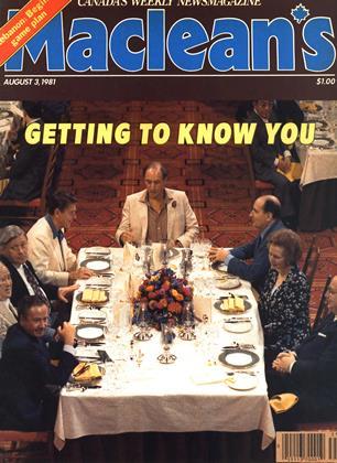 AUGUST 3, 1981 | Maclean's