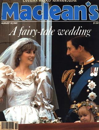 Cover for the August 10 1981 issue