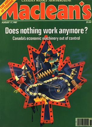 Cover for the August 17 1981 issue