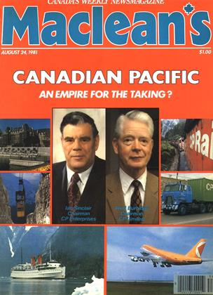 Cover for the August 24 1981 issue