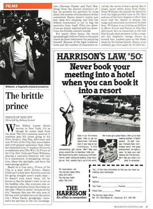 The brittle prince, Page: 57 - AUGUST 31, 1981 | Maclean's
