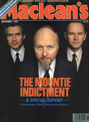 Cover for the September 7 1981 issue