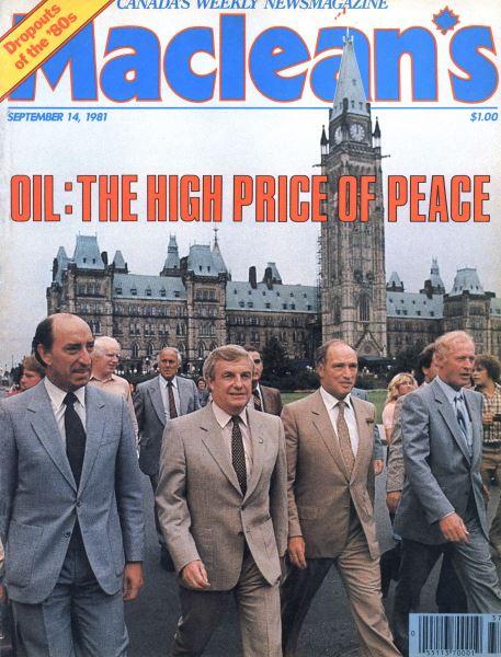 Issue: - SEPTEMBER 14,1981 | Maclean's