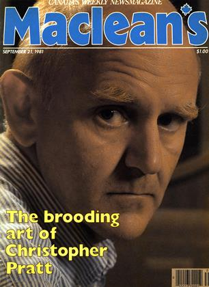 Cover for the September 21 1981 issue