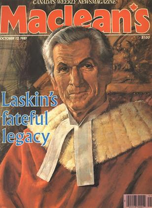 Cover for the October 12 1981 issue