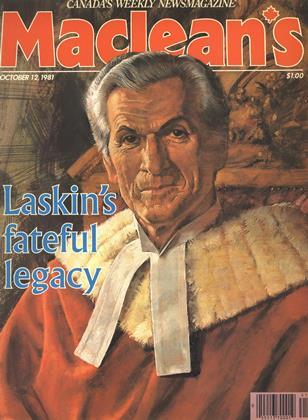 OCTOBER 12, 1981 | Maclean's