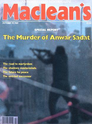 OCTOBER 19, 1981 | Maclean's