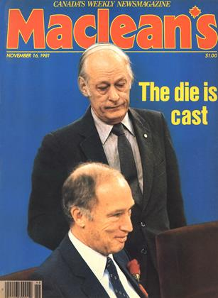 NOVEMBER 16, 1981 | Maclean's
