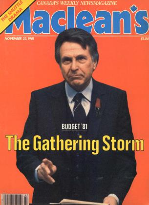 Cover for the November 23 1981 issue