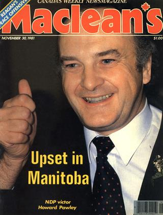 Cover for the November 30 1981 issue