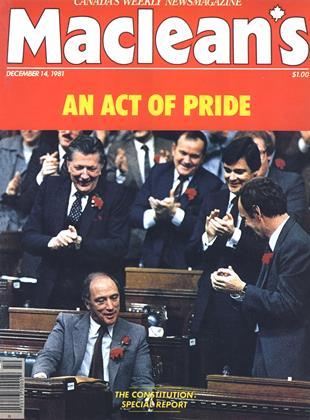 DECEMBER 14, 1981 | Maclean's