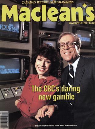 JANUARY 18, 1982 | Maclean's