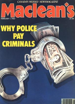 FEBRUARY 1, 1982 | Maclean's