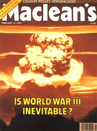 Cover for the February 15 1982 issue