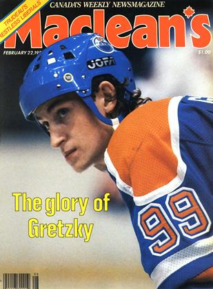 Cover for the February 22 1982 issue