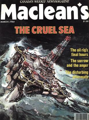 Cover for the March 1 1982 issue