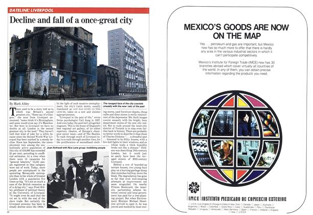 Decline and fall of a once-great city