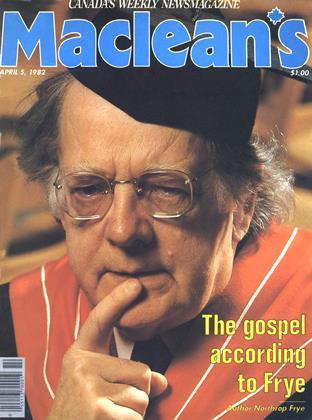 APRIL 5, 1982 | Maclean's