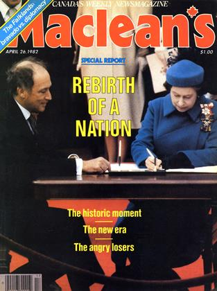 Cover for the April 26 1982 issue