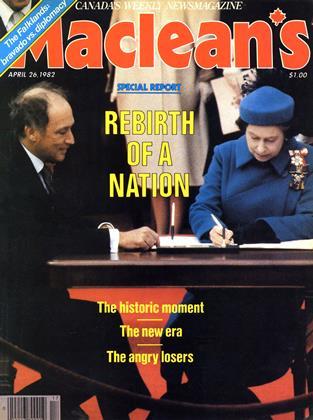 APRIL 26, 1982 | Maclean's