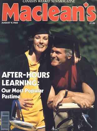 AUGUST 9, 1982 | Maclean's