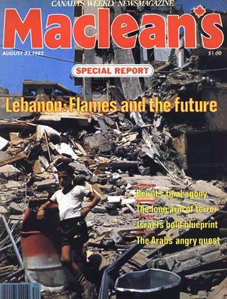 AUGUST 23, 1982 | Maclean's
