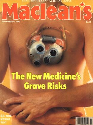 Cover for the September 6 1982 issue