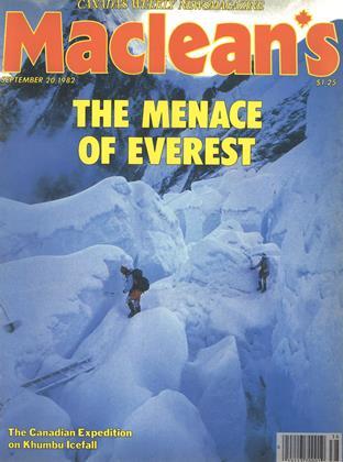 SEPTEMBER 20, 1982 | Maclean's