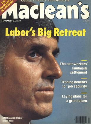 SEPTEMBER 27, 1982 | Maclean's