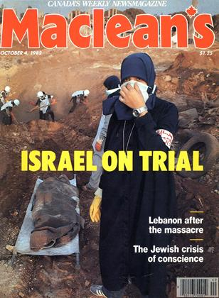 Cover for the October 4 1982 issue