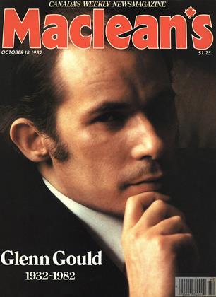 OCTOBER 18, 1982 | Maclean's