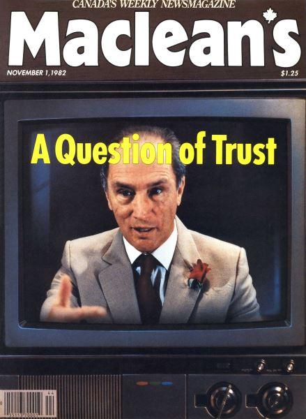 Issue: - November 1982   Maclean's