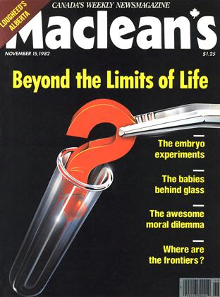 Cover for the November 15 1982 issue