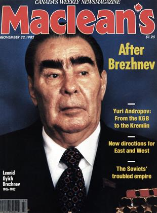 Cover for the November 22 1982 issue