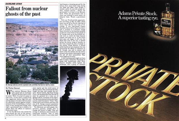 Fallout from nuclear ghosts of the past
