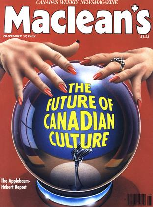 Cover for the November 29 1982 issue