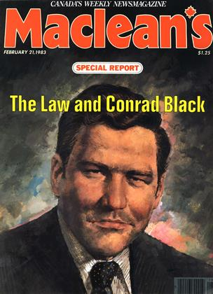 Cover for the February 21 1983 issue