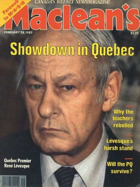 Issue: - FEBRUARY 28,1983 | Maclean's